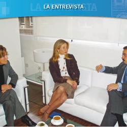 Fotografía de Maria Dolores Calvo Navarro. Directora del Instituto de Medicina Legal de Granada en la portada de la entrevista realizada por HispaColex