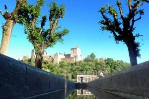 Fotografía de la Alhambra de Granada en relación con las nuevas subvenciones en el sector turistico