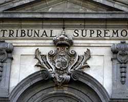 Fotografía del edificio del Tribunal Supremo de Madrid en relación con la sentencia del Tribunal Supremos sobre el ERE en la reforma laboral
