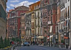 Calle de Granada en relación a la nueva ley de rehabilitación, regeneración y renovación urbana