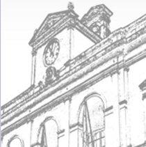 Dibujo de un Ayuntamiento en relación con el proyecto de ley de racionalización y sostenibilidad de la administración local