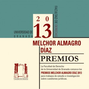 Premio Melchor Almagro Diaz 2013
