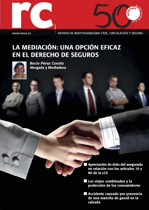 Artículo Javier en revista de RC Marzo 2014 titulado Ocultar información en el Seguro de Vida impide poder cobrarlo por dolo del asegurado