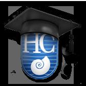 """Logotipo de la app de HispaColex """"El abogado en tu bolsillo"""""""