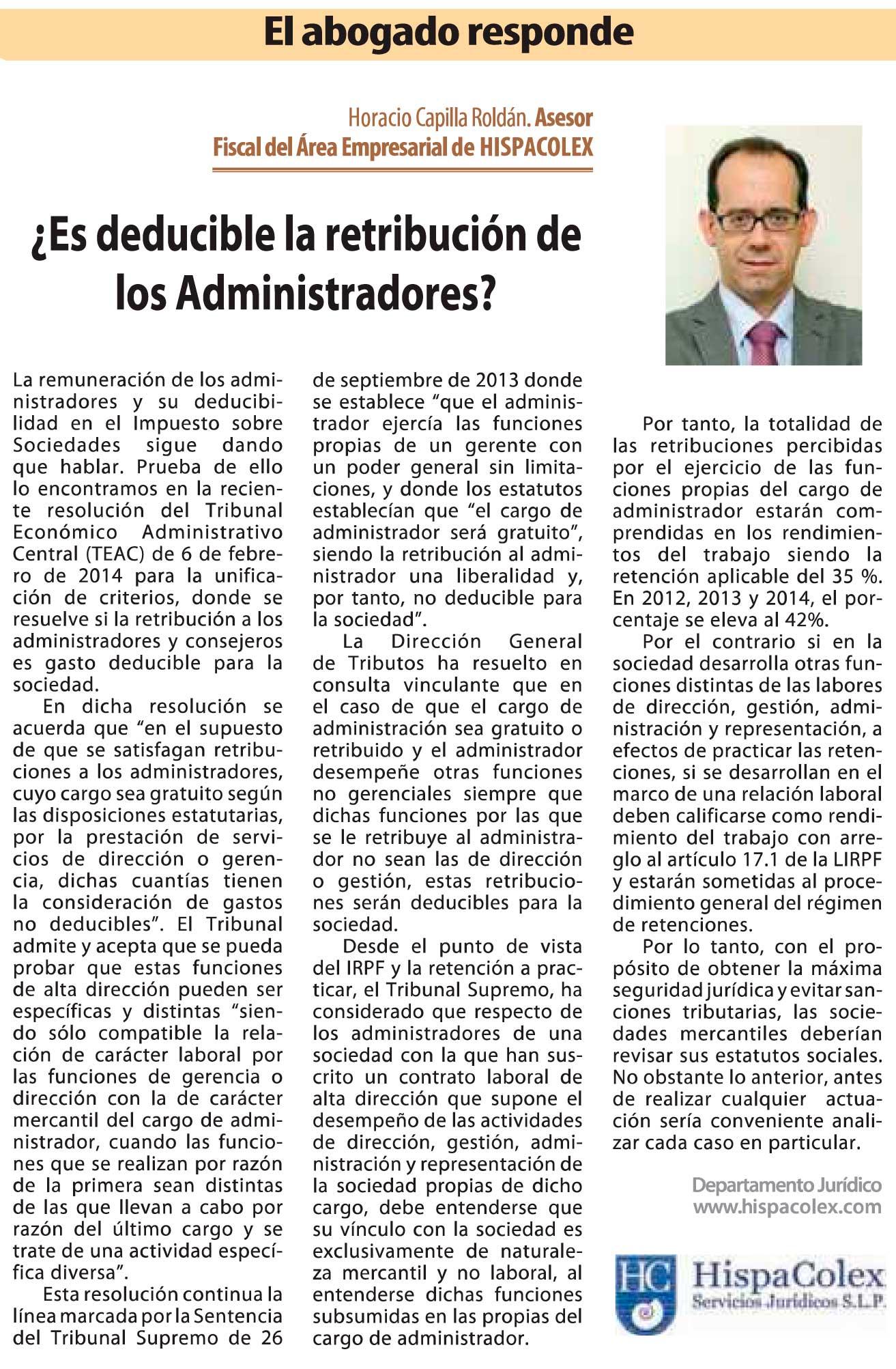 ES-DEDUCIBLE-LA-RETRIBUCION-DE-LOS-ADMINISTRADORES_HORACIO-CAPILLA-ROLDAN-GRANADA-ECONOMICA