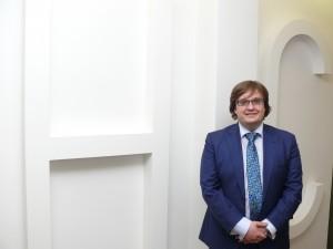 Fotografía de Juan José González, abogado de HispaColex invitado por ICAB para hablar de los programas espia