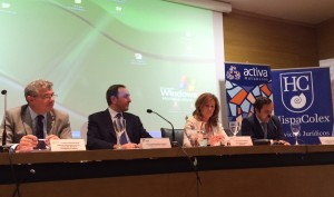 Conferencia de la abogada Azucena, miembro de HispaColex, en la jornada sobre útimas novedades en materia laboral