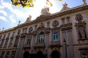Edificio del Tribunal Supremo de justicia española en referencia al recurso de casación