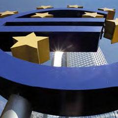 Fotografía al icono de la Unión Europea en relación a las sociedades empresariales en Europa