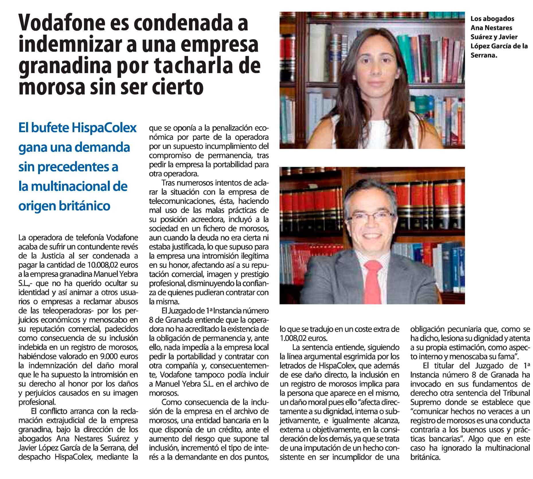 Granada-Economica-Vodafone-es-condenada-a-indemniza-a-una-empresa-granadina-por-tacharla-de-morosa-son-ser-cierto