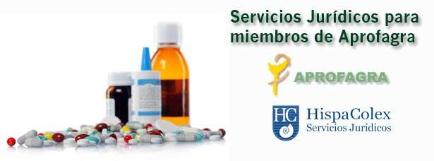 Una serie de medicamentos en relevancia con la renovación de HispaColex con la Empresarial de farmacéuticos de Granada, Aprofagra