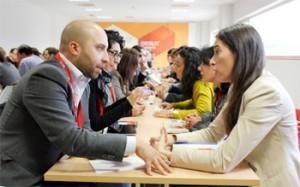 Mayca Palomino, abogada del Departamento civil-mercantil en HispaColex, participando en el Encuentro de Negocios en Jaén