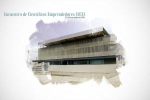 Cartel oficial del Congreso de Científicos Emprendedores en Granada