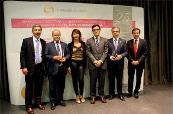 Thomson reuters y aranzadi premian a hispacolex como for Oficina virtual bankinter