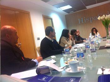 Varios de los empresarios de Jaén presentes en el Café de Empresa sobre Compliance Penal