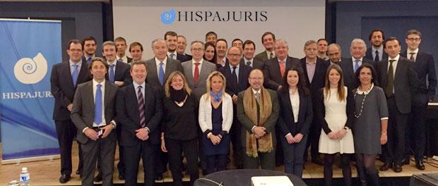 Asamblea General de Hispajuris entre los que se encuentra el diretor de HispaColex.