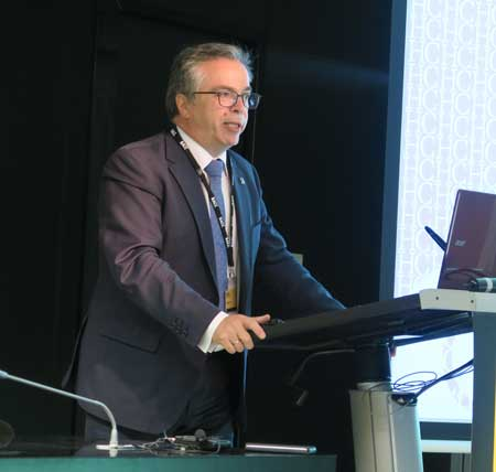 Javier López y García de la Serrana explicando el nuevo Baremo de daños corporales en Accidentes
