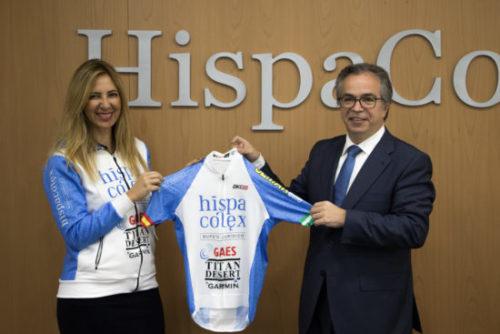 HispaColex Silvia Espelt Javier López Titan Desert MTB