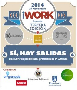 Cartel del evento i-Work en Granada