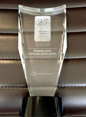 Premio de Aranzadi a HispaColex como mejor despacho de abogados innovador