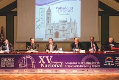 Abogados ponentes en el Congreso de Valladolid de la Asociación Española de Abogados Especializados en Responsabilidad Civil y Seguro