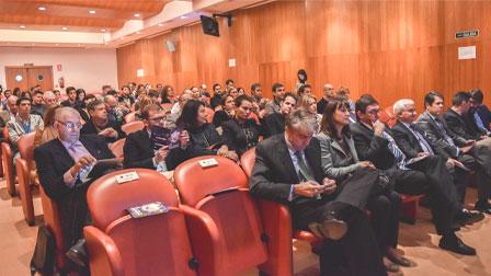 Asistentes a las VII Jornadas de 'spin off', organizadas por la OTRI de la Universidad de Granada.