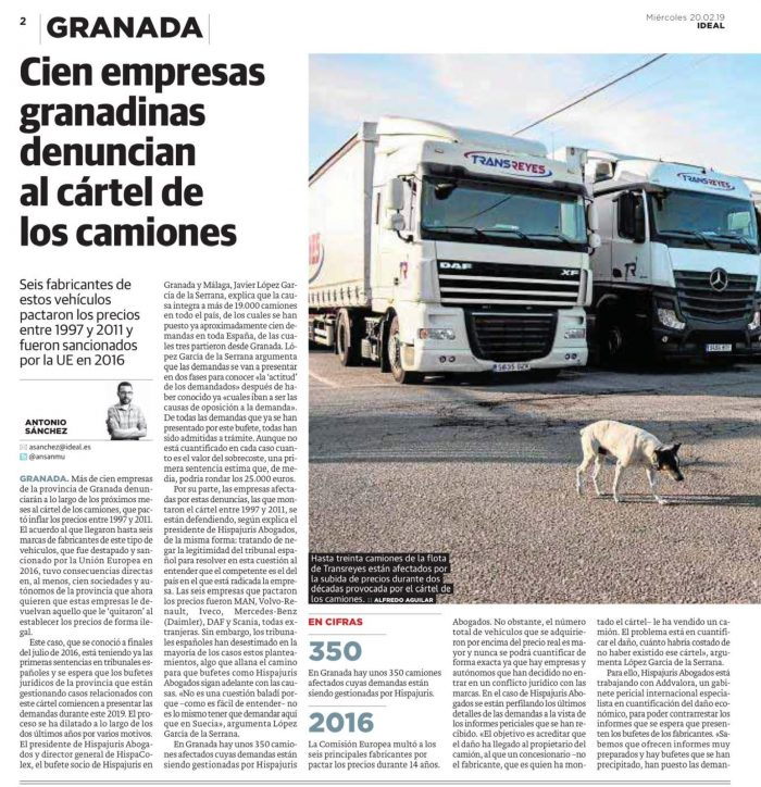 abogados cartel de camiones