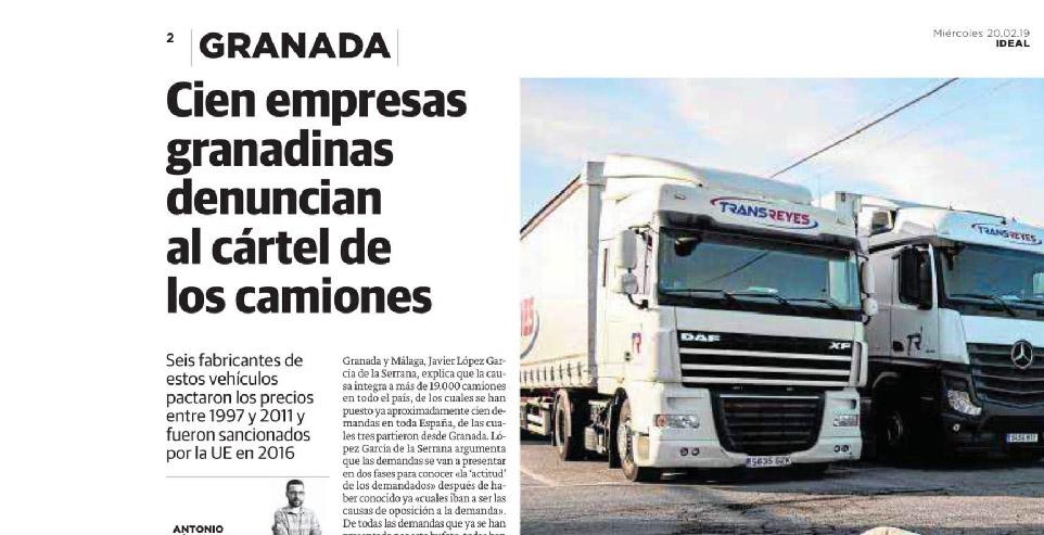 cártel camiones abogados