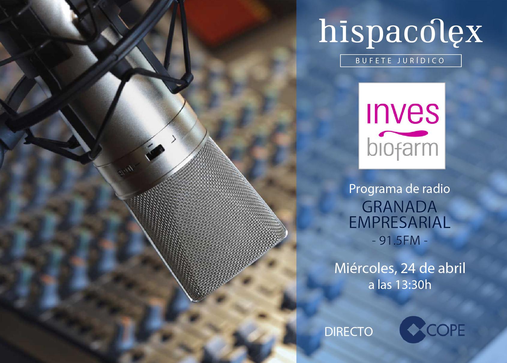 Imagen del audio Granada Empresarial: Entrevista a Mariano Viedma, Director y Fundador de Inves BioFarm