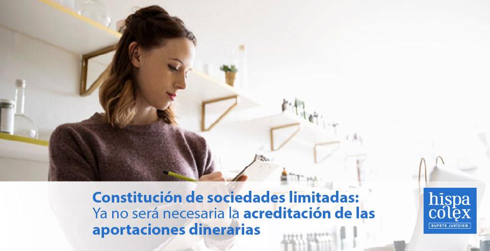 asesores y abogados tramites constitucion de sociedades limitadas