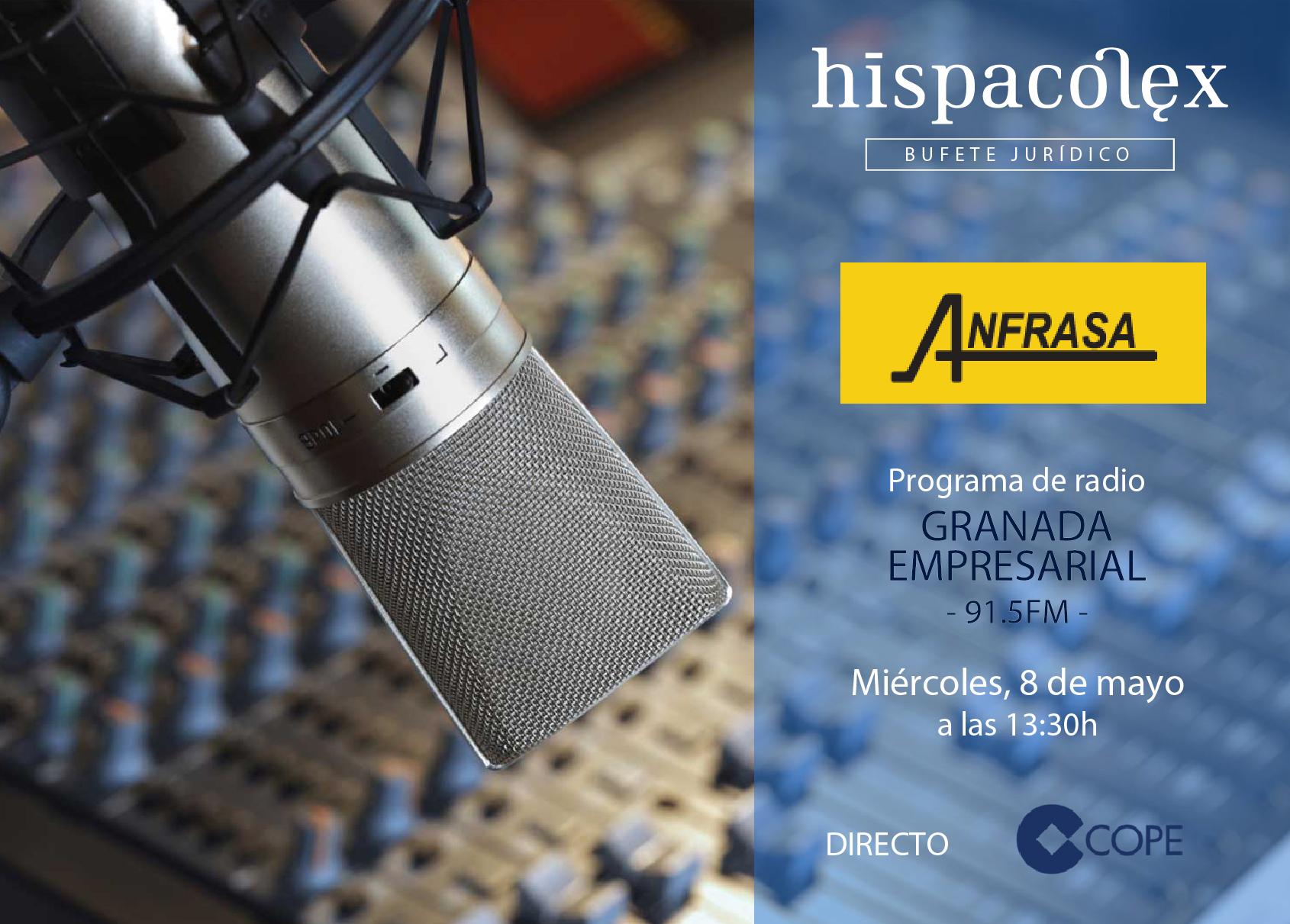 Imagen del audio Granada Empresarial: Entrevista a Ana Hernández, Directora Comercial de ANFRASA