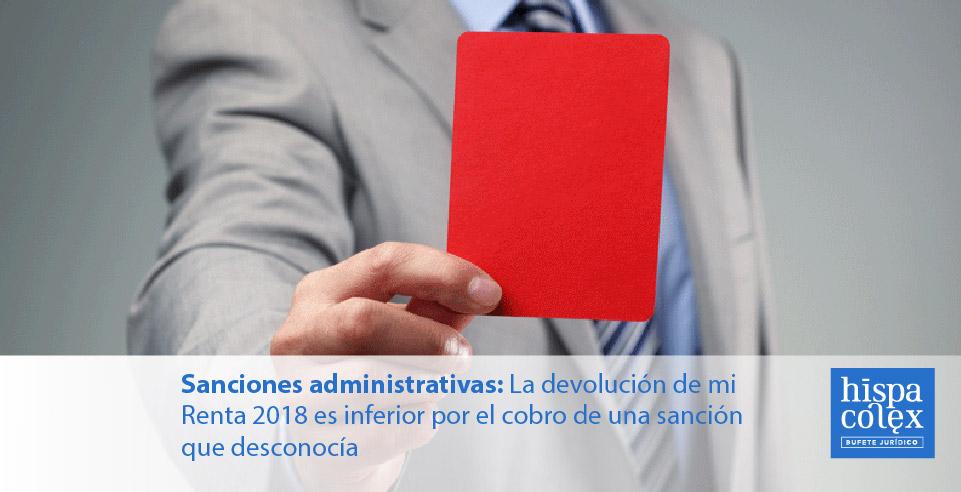 abogados sancion administrativa
