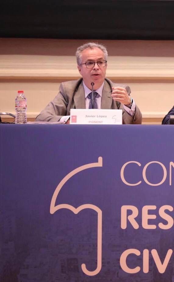 Intervención de Javier López y García de la Serrana en el Congreso de Responsabilidad Civil