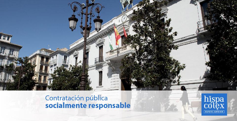 Contratación pública socialmente responsable