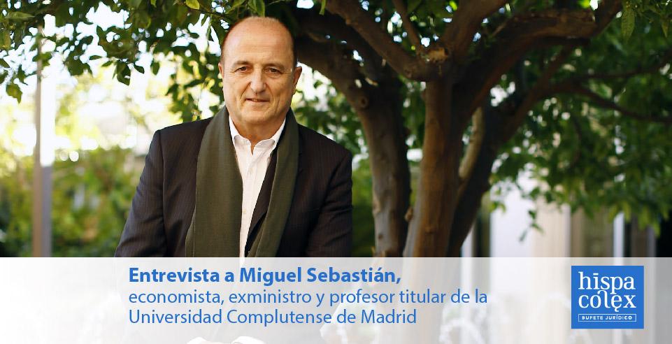 entrevista a economista y exministro miguel sebastian