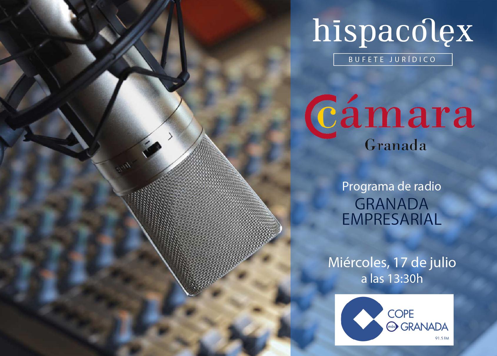 Imagen del audio Granada Empresarial: Entrevista a a Joaquín Rubio Torres, Director-Gerente de la Cámara Comercio Granada