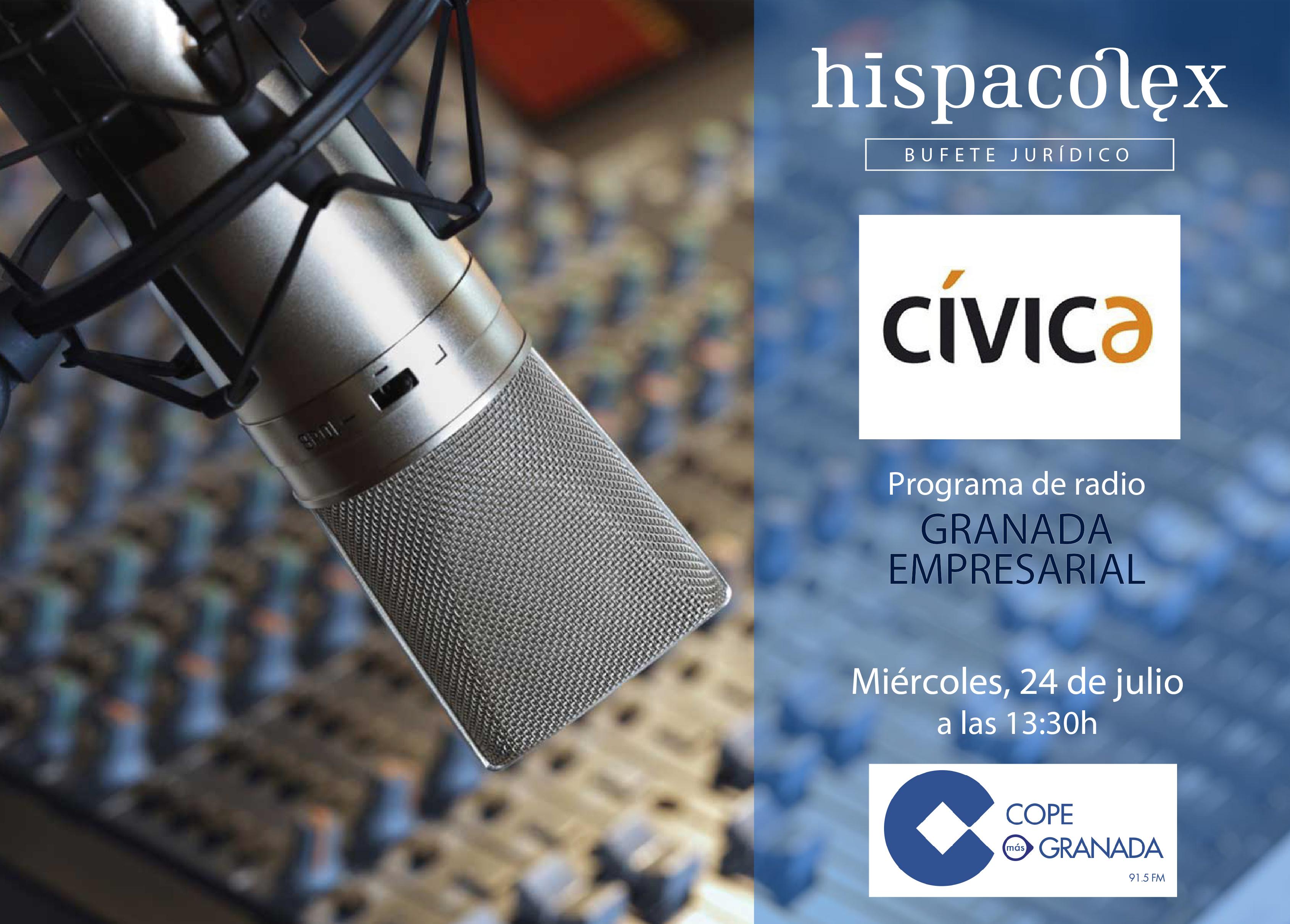 Imagen del audio Granada Empresarial: Entrevista a Josep Roig Salvador, Director general de Cívica Software