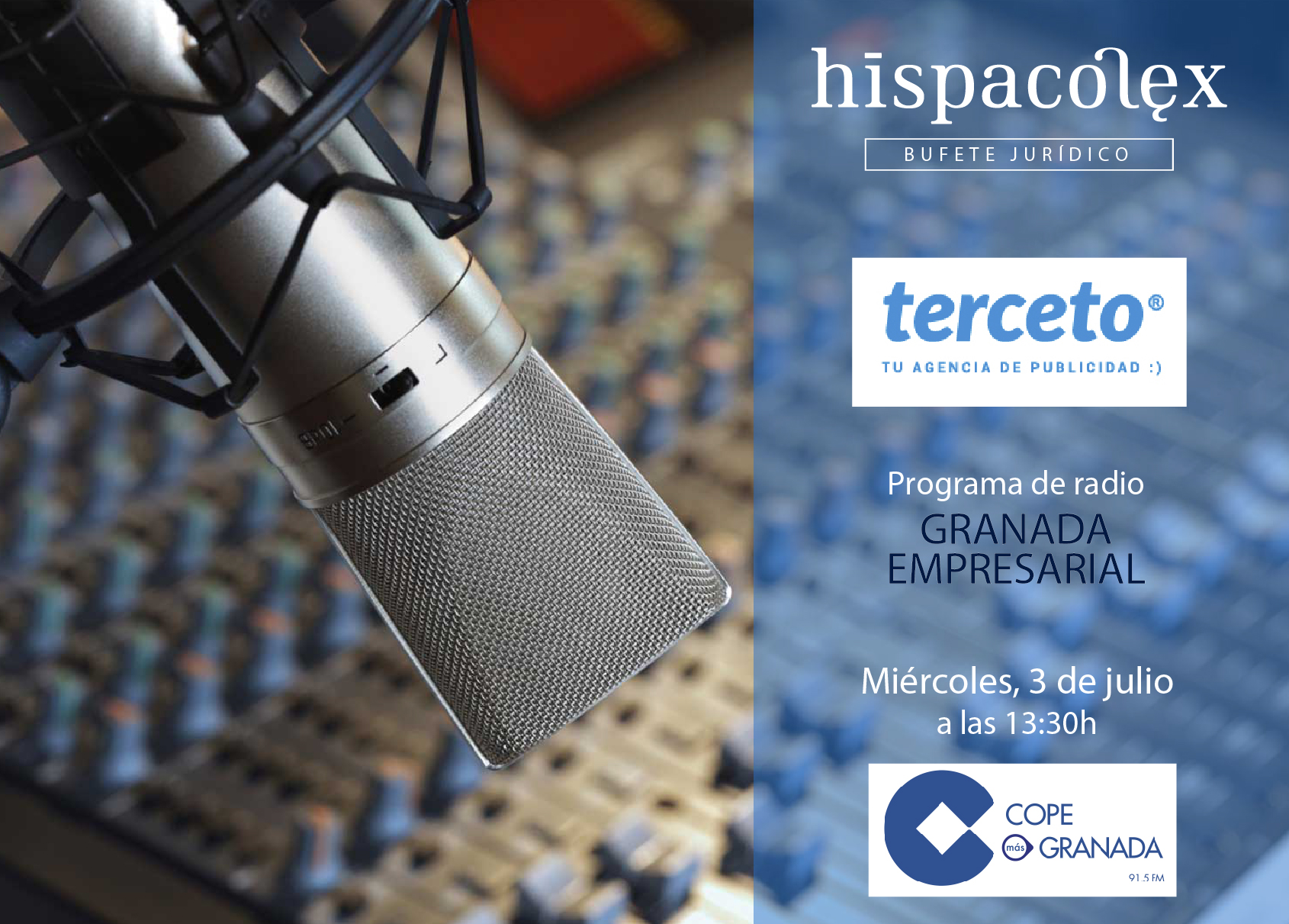 Imagen del audio Granada Empresarial: Entrevista a Carlos Álvarez, Director de Terceto Comunicación